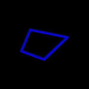 Symetria, Ai Sugiura, Blue Drawing 03