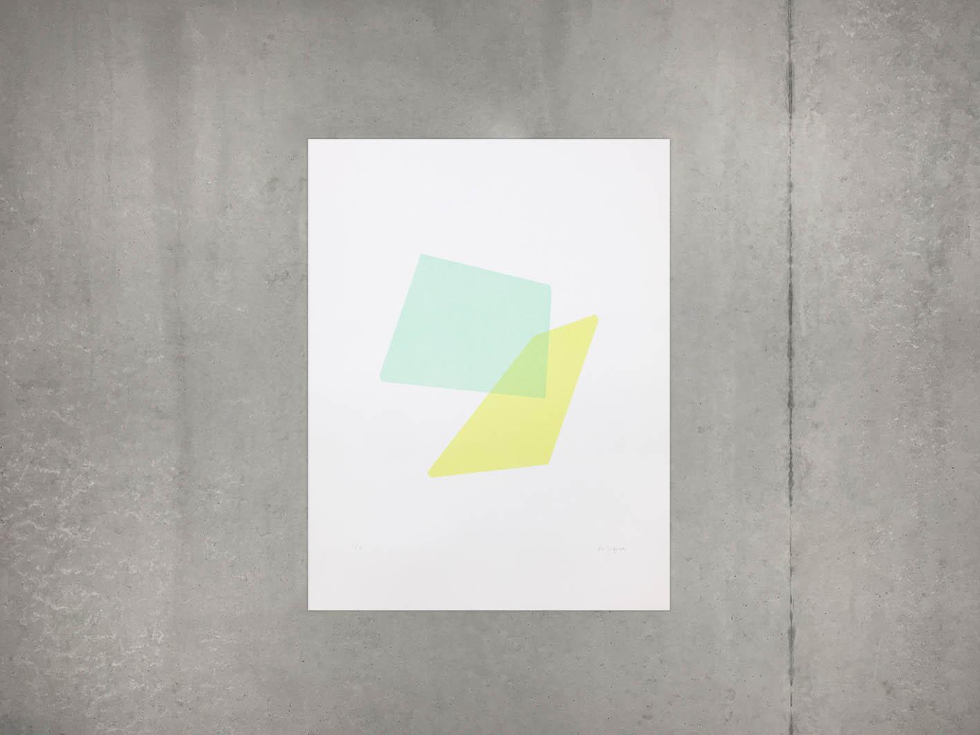 Symetria, Ai Sugiura, Two Shapes Colors