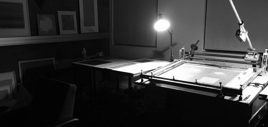 Symetria screen print studio, atelier