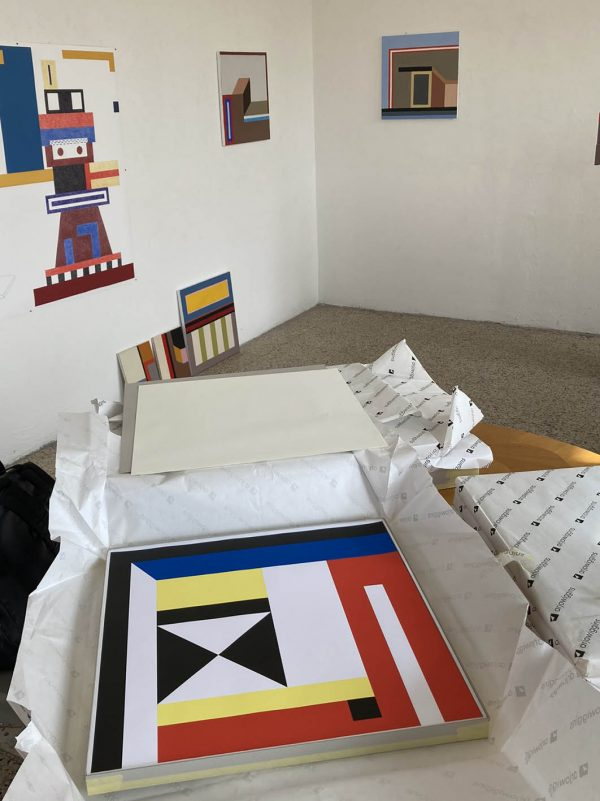 Symetria, Nathalie Du Pasquier - Ouest Studio Milano