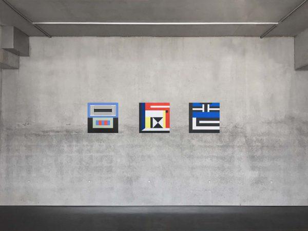 Symetria, Nathalie Du Pasquier, Nord - Sud - Ouest
