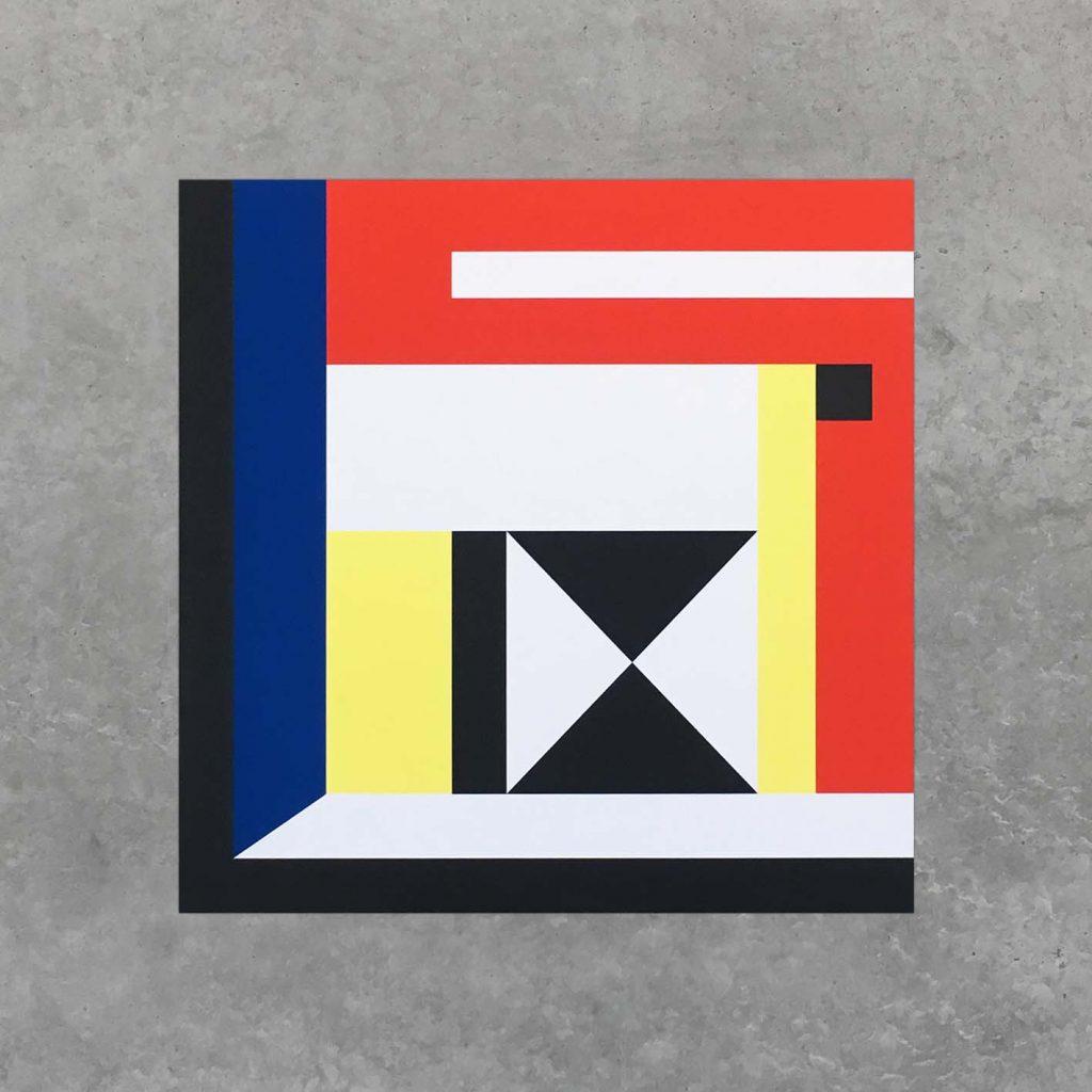 Symetria, Nathalie Du Pasquier, Ouest